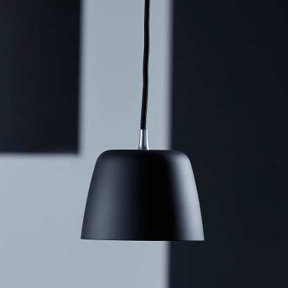 Noir pendel 132 Matt sort | Belysning.online