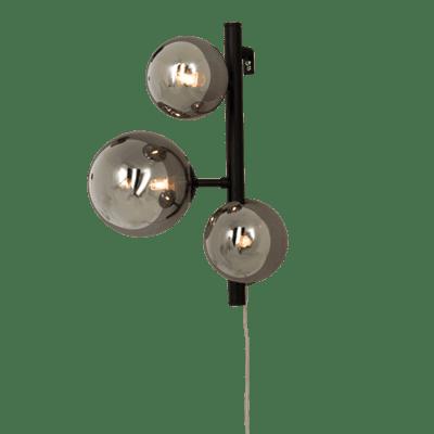 Molekyl taklampe 85 Cm 11 x G9 25W Sort/Røk | Belysning.online
