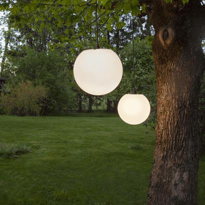 Lampeoppheng for utendørs bruk 5M Sort | Belysning.online