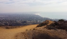 Trails in Santa Monica always lead to a view like that from Los Liones