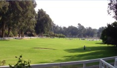 One of the best hikes in LA - Will Rogers State Park - takes you right through the Polo club