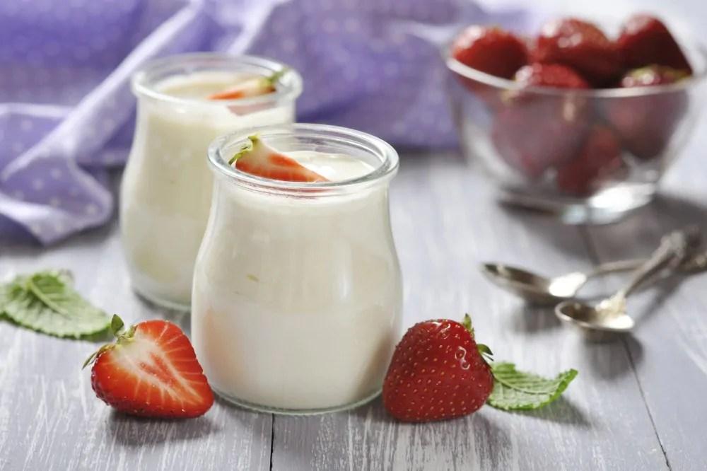 iogurte desnatado ou integral