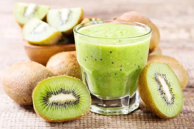 O gengibre é uma indicação para compor combinações de suco de kiwi