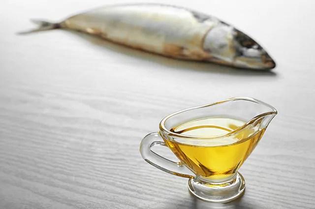 O óleo de peixe é um remédio caseiro para esclerodermia