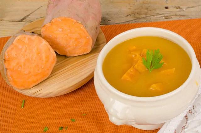 A batata doce é muito usada pelos adeptos da musculação
