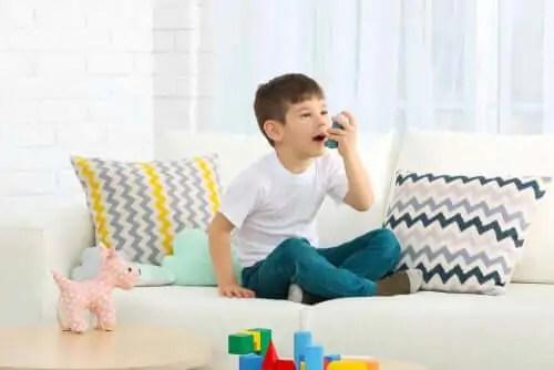 asma-em-criancas O tratamento da asma em crianças