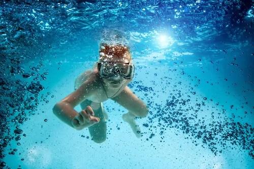 mergulho-para-criancas-o-contato-com-a-natureza Pedagogia do tempo de lazer