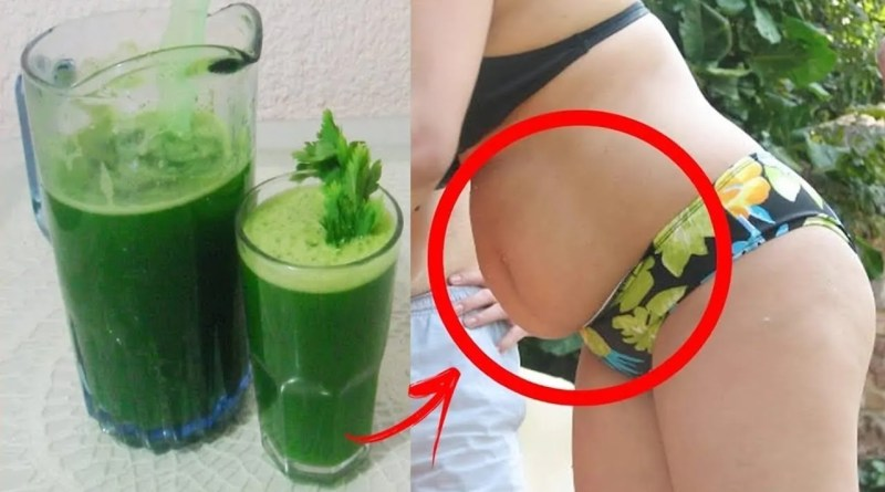 Bebida Para Remover a Gordura da Barriga
