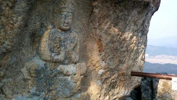 Seven Buddha Hermitage Namsan Mountain gyeongju national park