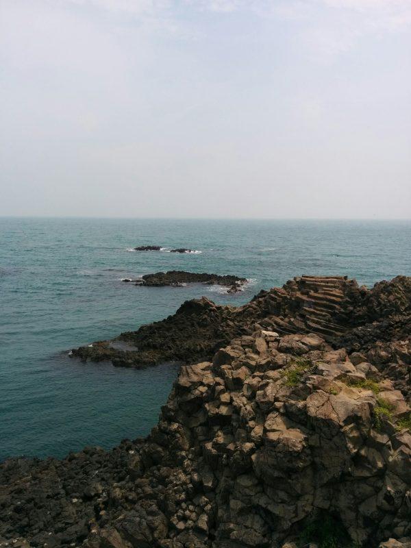 Rock Formations Yangnam Coast Gyeongju