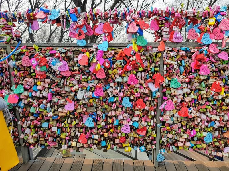 namsan tower locks