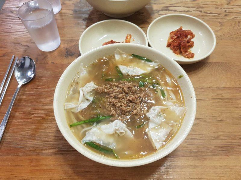 myung dong kal guk su south korea