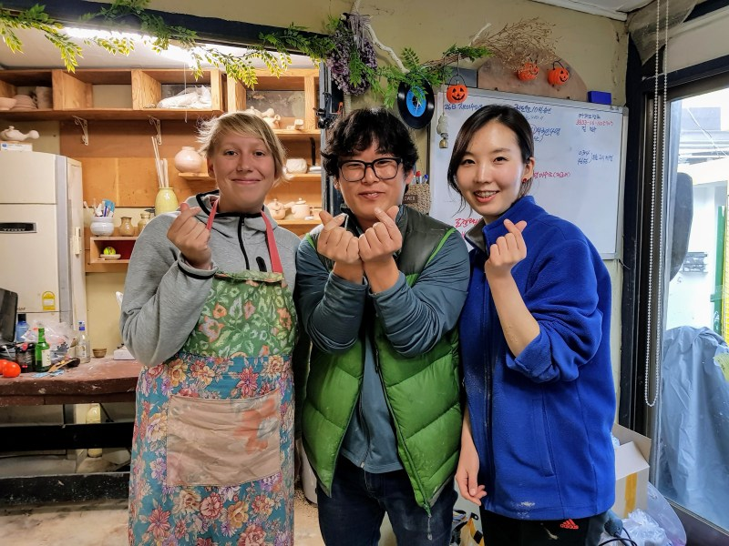 pottery experience to do in itaewon