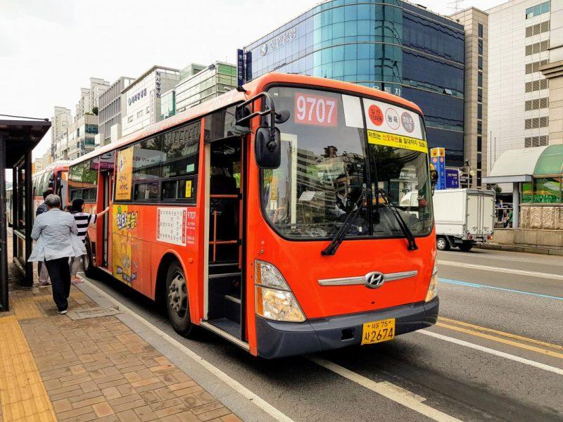 seoul bus app