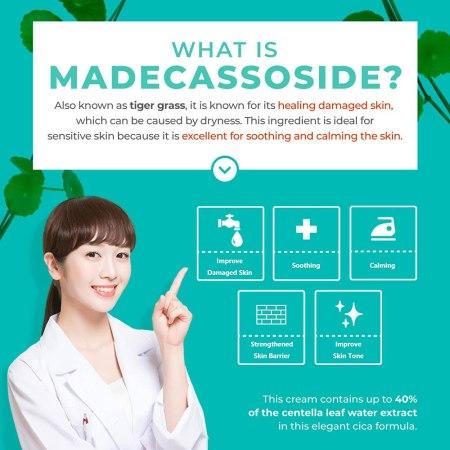 what is Madecassoside apieu