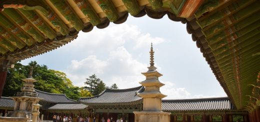 seokguram grotto and Bulguksa Temple Gyeongju South Korea