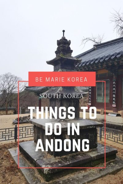 Things to do in andong south korea