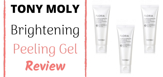 Tony Moly Floria Brightening Peeling Gel Review
