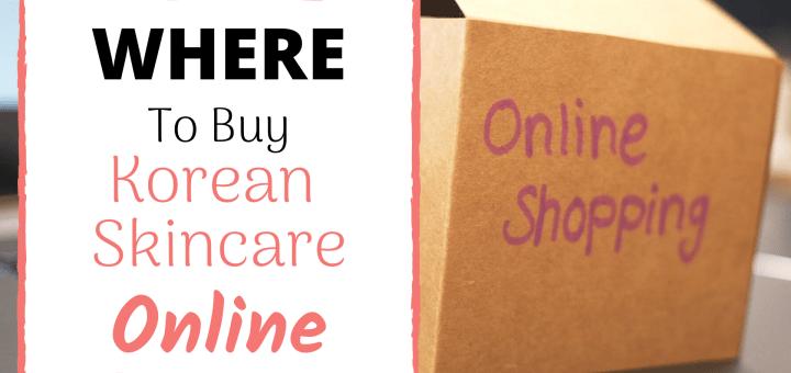 Where To Buy Korean Skincare Online