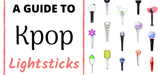 kpop lightsticks