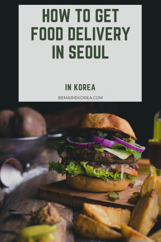 food delivery seoul english