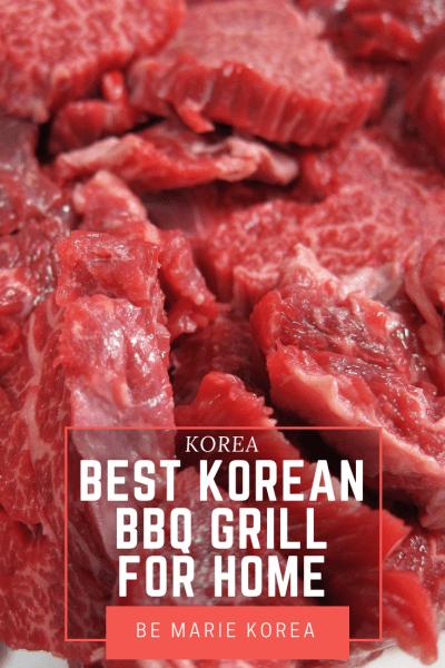 electric korean bbq grill