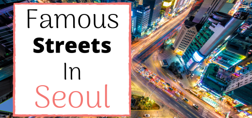 Famous Streets in Seoul