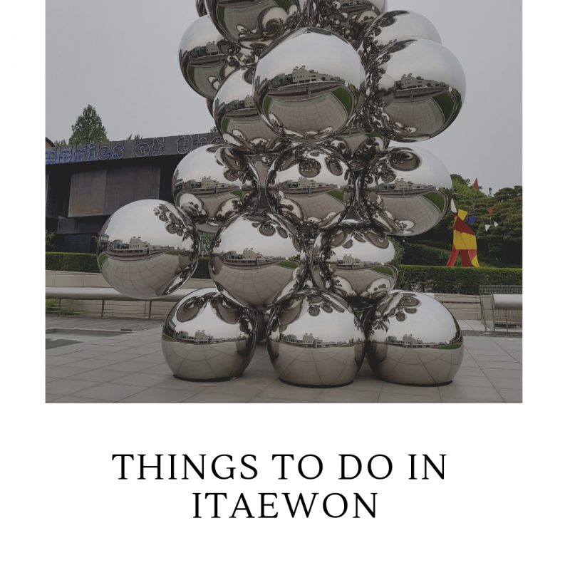 things to do in itaewon