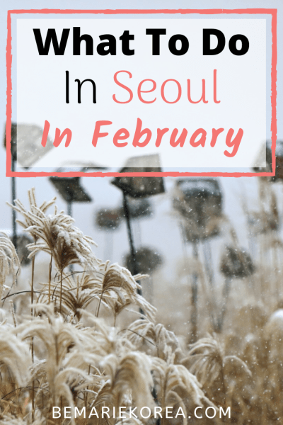 visiting seoul in february