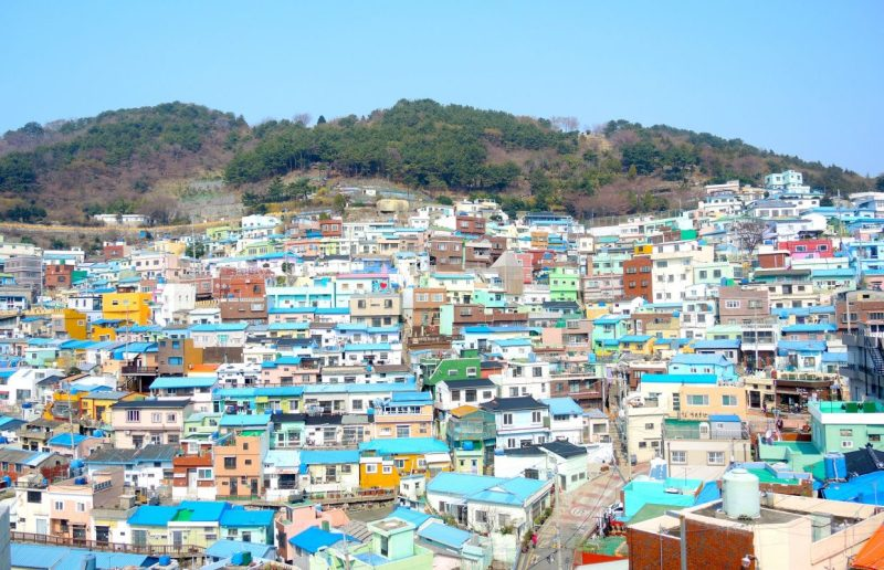 two days in busan Gamcheon Culture Village