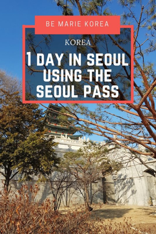 seoul one day pass