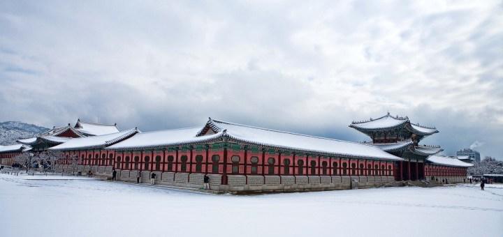 korea winter blog