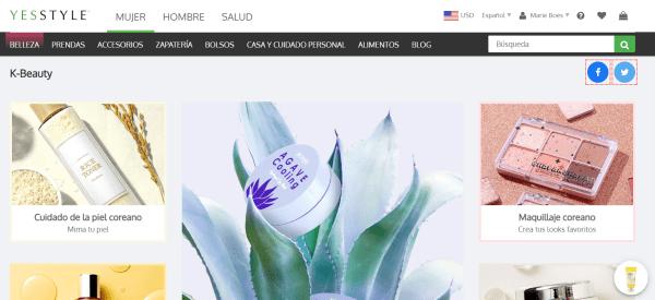 cosmetica coreana online