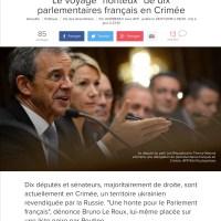 Le jour où Poutine annexera la Corse, la Droite applaudira (je suppose)...