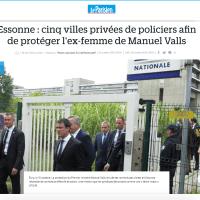 """Ho? La """"police privée"""" de l'ex-femme de Manuel Valls ..."""