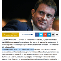 """Meeting privé"" de M. #Valls à Matignon ..."