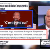 Rugby (politique): F. De #Rugy chez #Macron? Qui se souvient de F. Poisson? Personne…