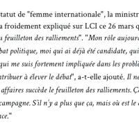 """Pour S. Royal, #Macron c'est """"non!"""". """"Je ne participerai pas au feuilleton des ralliements""""..."""
