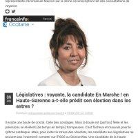 """La """"voyante"""" d'Emmanuel #Macron ..."""