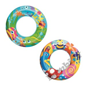 """Bestway - ϕ22""""/ϕ56cm Designer Swim Ring"""