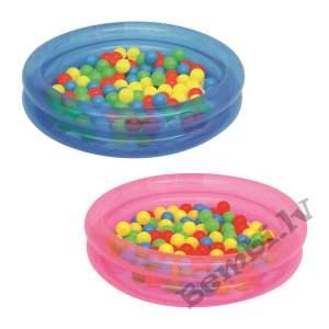 "Up, In & Over - ϕ36"" x H8""/ϕ91cm x H20cm 2-Ring Ball Pit Play Pool"