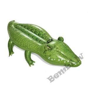"Bestway  66"" x 35""/1.68m x 89cm Krokodils peldpūslis"