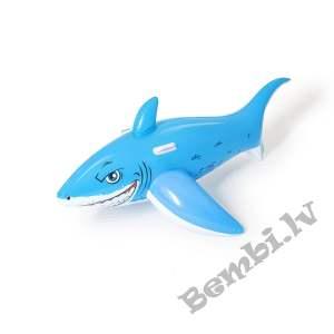 """Bestway  62"""" x 28""""/1.57m x 71cm Lielā baltā haizivs peldpūslis"""