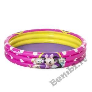 "Minnie  48"" x H10""/1.22m x H25cm Minnie 3-Ring Peldbaseins"