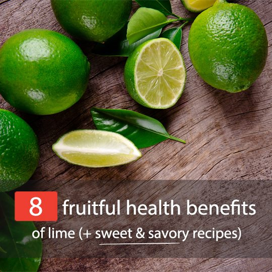 Check out these surprising health benefits of lime - for your body, skin and hair!