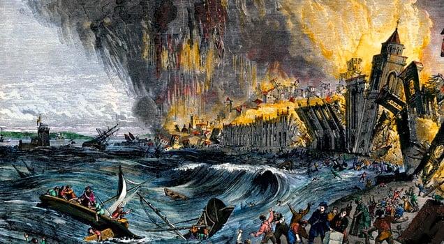 Terramoto de 1755 e reconstrução da cidade