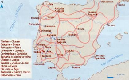 A Península Ibérica Romanizada
