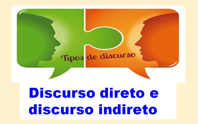 Discurso direto e discurso indireto