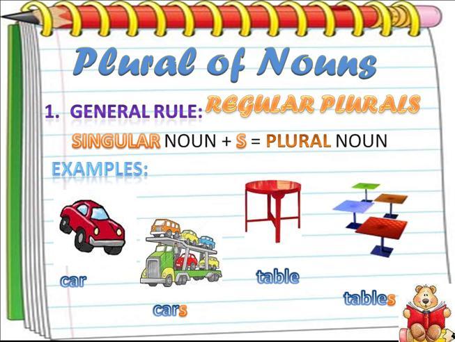 Ficha de Trabalho – Plural of nouns (3) – Soluções