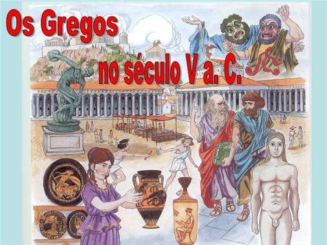 Os Gregos no Século V